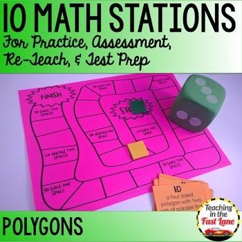 Polygons Math Stations