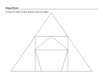 Polygons Puzzle