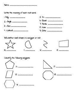 Polygons Test