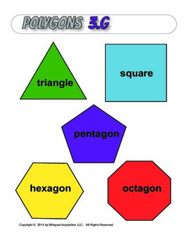 Polygons Wall Poster, 3.G