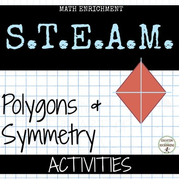 Polygons and Symmetry station activities for upper element