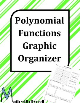 Polynomial Functions Graphic Organizer