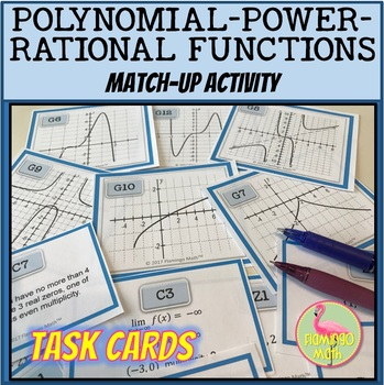PreCalculus: Polynomial Power and Rational Functions Match