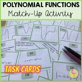 Polynomial Functions Sort & Match Activity