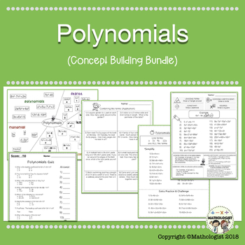 Polynomials, Algebra, Classifying, Combining like terms, A
