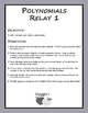 Polynomials Relay 1 (Game)