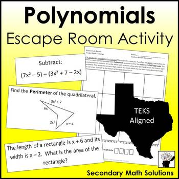 Polynomials Review Activity (Amazing Race)