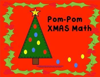 SALE-Pom-Pom XMAS Math
