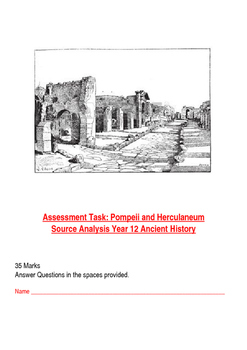Pompeii and Herculaneum Assessment