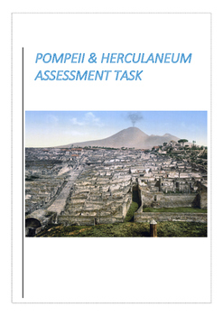 Pompeii and Herculaneum Assessment Task Year 12 HSC