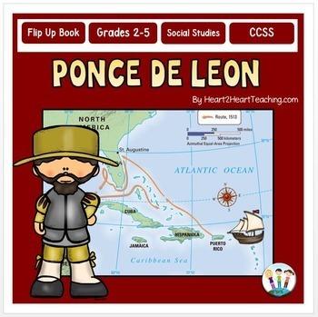 Early Explorers - Ponce de Leon Unit with Articles, Activi