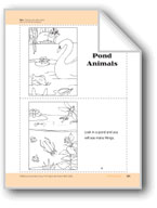 Pond Animals: Take-Home Book