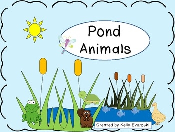 Pond Animals Unit - Jump in!