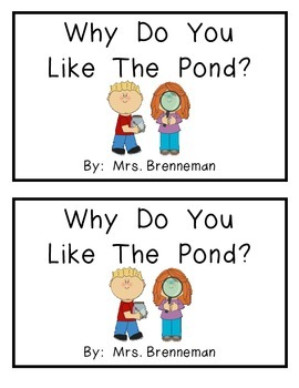 Pond Emergent Reader