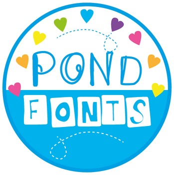 Pond Fonts Credit Button/Image