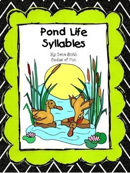 Pond Life Syllables