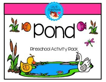 Preschool Activity Unit ~ Pond