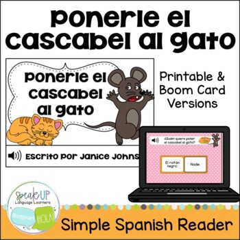 Ponerle cascabel al gato ~Spanish Belling the Cat Fable Re