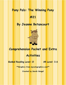 Pony Pals: The Winning Pony #21 By Jeanne Betancourt Compr