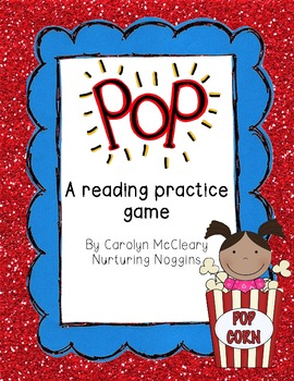 Pop! A Reading Practice Game