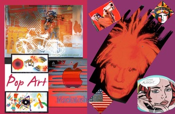 Pop Art History ~ FREE POSTER