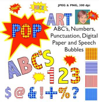Pop art clip art