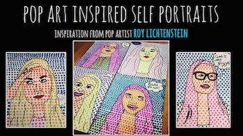 Pop Art Self Portraits