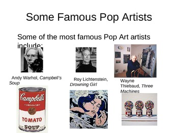 Pop Art slideshow