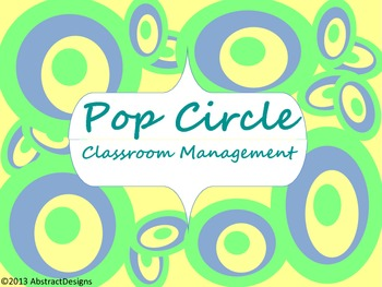 Pop Circle Classroom Management Set