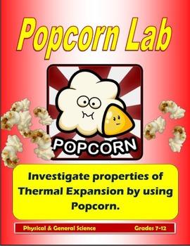 Pop Corn Lab (Heat and Energy)