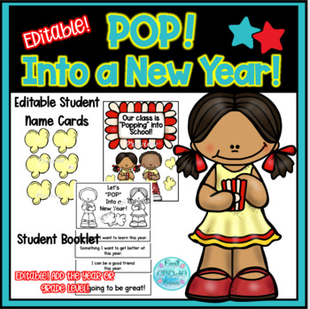 """""""Pop"""" Into a New Year! Flip Book"""
