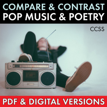 Pop Music Song Lyrics and Classic Poetry, Compare/Contrast