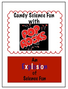 Pop Rocks Candy Science Fun beginning end of year activity