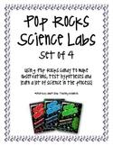 Pop Rocks Experiment/Observation Labs, Set of 4