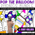 Pop The Balloon! Phonics Segmenting Cards