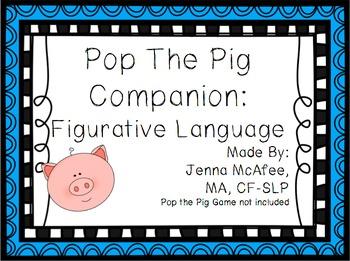 Pop The Pig Companion: Figurative Language