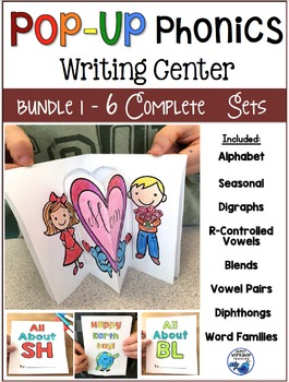 Pop-Up PHONICS Writing Center