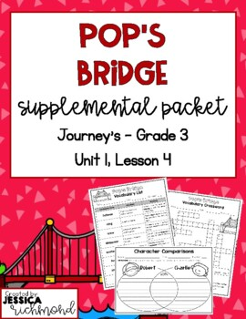 Pop's Bridge - Vocabulary Study Guide
