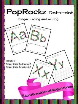 PopRockz Trace N' Write {Alphabet}