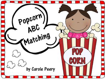 Popcorn ABC Matching