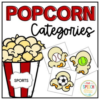 Popcorn Party Category Clips