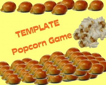 Popcorn Game - Template