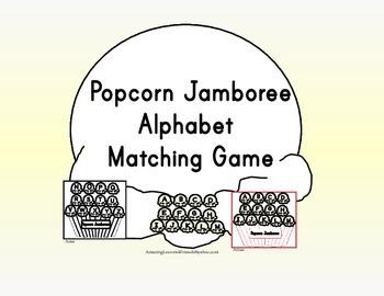 Popcorn Jamboree Alphabet Matching Game