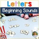 Letter Sound Fluency! Popcorn Themed!