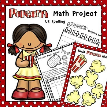 Popcorn Math Project Gamification US