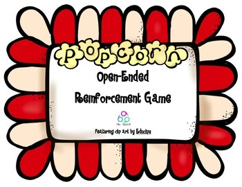Popcorn Open-Ended Reinforcement Game FREEBIE