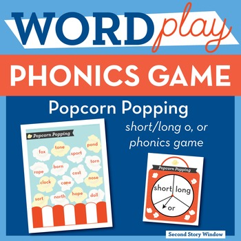 Popcorn Popping -or Phonics Game