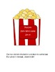 Popcorn Sight Word Game - Set 1