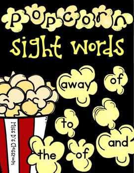 Popcorn Sight Words: BUNDLE!