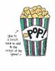 Popcorn!  Spanish/English Words
